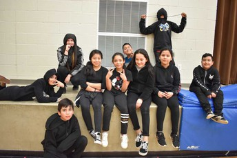6th grade Ms. Rodriguez's class-Team black
