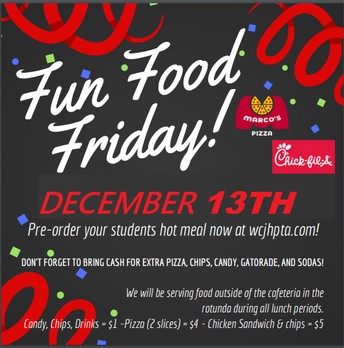 Fun Food Friday - December 13th!