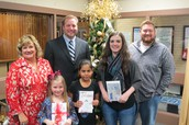 SHISD Christmas Card Contest Winners