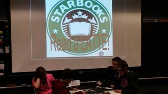 Starbooks Cafe in 6th Grade