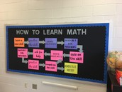 Growth Mindset Math  #carvermiddleschool #amazingscotsatwork