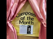 Composer of the Month in Ms. Van Liew's Music class