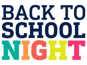 Get Ready for Back to School Night!