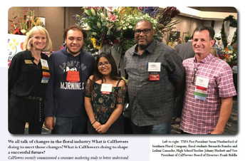 Alief ISD CTE students were featured in the October edition of Texas in Bloom Magazine.