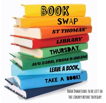 St Thomas' Book Swap