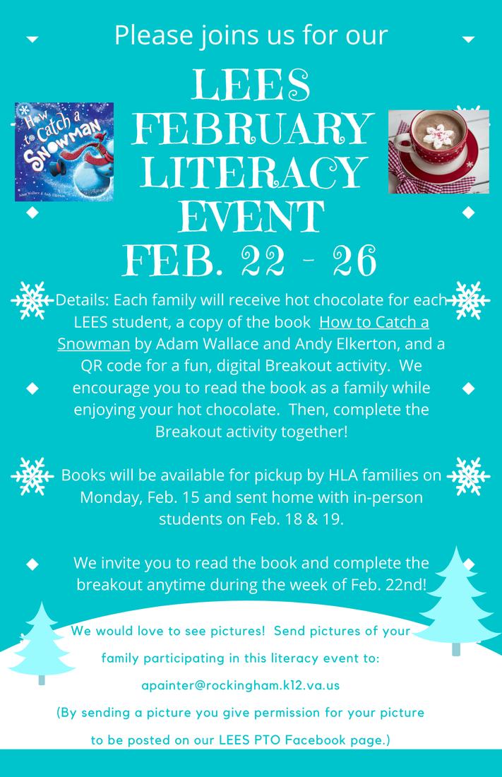 February Literacy Event