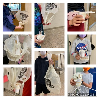 8A and 8B egg drop challenge