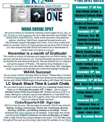 Social Spot November