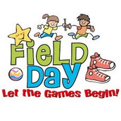 FIELD DAYS ARE COMING IN APRIL