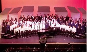 Caldwell High Choirs perform