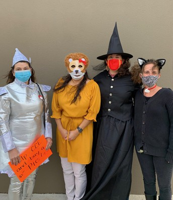 """CCE McTeacher Night: Our Sped Team is Rocking the """"Oz""""!"""