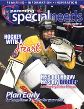 "JACOB WEBER, SMS 7th GRADER, APPEARS ON THE COVER OF ""PARENTING SPECIAL NEEDS"" MAGAZINE"
