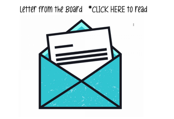 Letter from the Board