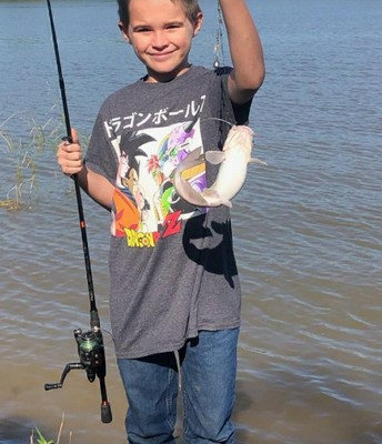 That's one big monster catfish, Shane!