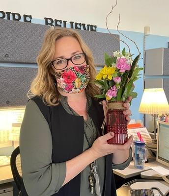 Mrs. Lautt, Senior Administrative Clerk