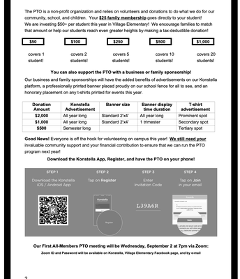 PTO Newsletter Pg. 2