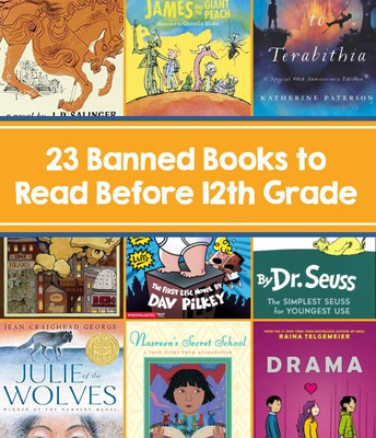 Click the link below to see the list of Banned Books