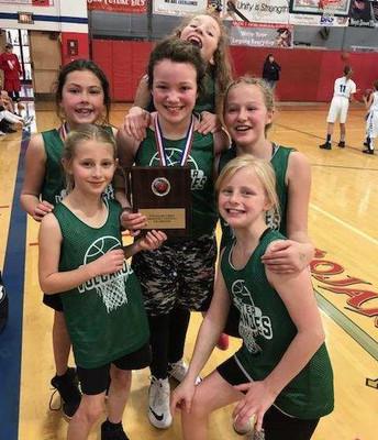 Chester 5th graders - Hoop Shoot winners!