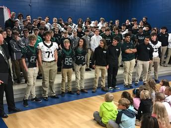 Staley Men's Choir Performance
