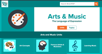 Brainpop: Music and Arts