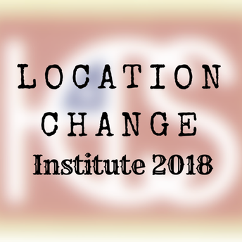 LOCATION CHANGE - Institute will be Monday, August 6