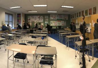 MMS 8th Graders Walk the Talk!