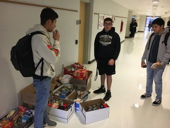 SGA Collecting From Homerooms!