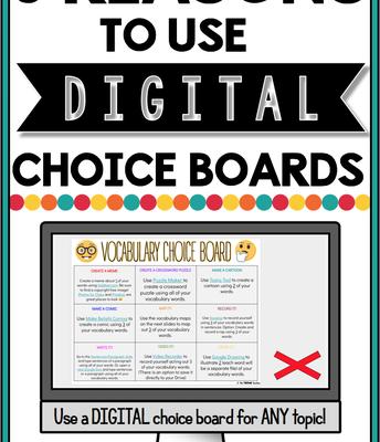 Digital Choice Board Blog