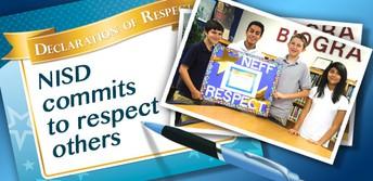 NISD Declaration of Respect