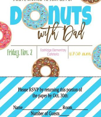 Donuts with Dad or Special Friend