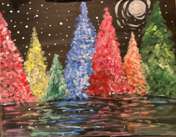 Paint a Holiday Canvas!