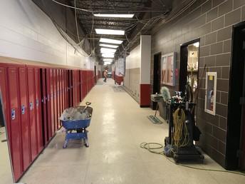 Tech Ed Hallway