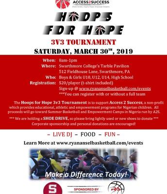 Hoops for Hope 3v3 Tourney