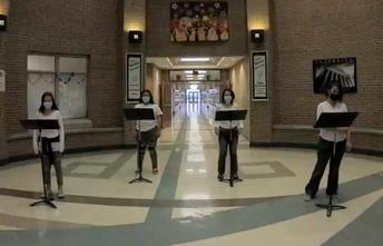 JBMS Choir Students