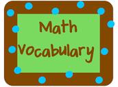 Weekly Math Vocabulary Hunt at SeaWind Elementary School