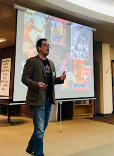 "Dr. Francis presented on ""Native Representation in Popular Culture"""