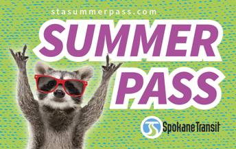 Spokane County STA Free Bus Passes for Students!