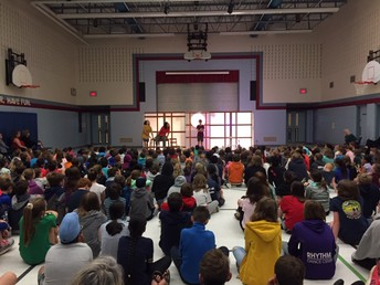 1000 Islands Playhouse performance for the whole school