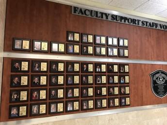 Eagle Club Honors Staff & Volunteers