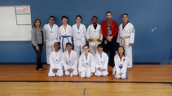 1st Belt Ceremony