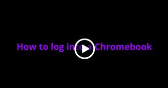 How to Log into a Chromebook