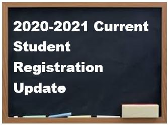 Current Student Registration Process Update