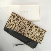 The Covet Crosby - Leopard Calf Hair