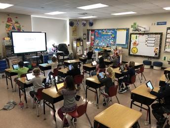 Kindergarten STEM class