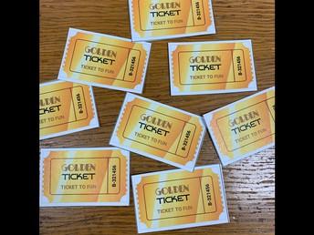 Golden Tickets!