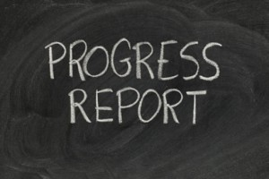 Progress Reports Issued Tuesday, February 12th