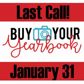 LAST CHANCE TO BUY YOUR YEARBOOK