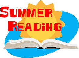 COME CHECK OUT LIBRARY BOOKS FOR SUMMER BREAK