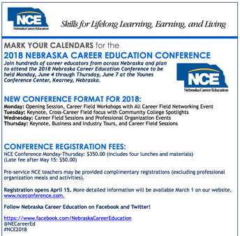 NCE Conference 2018