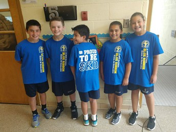 National Blue Ribbon T-shirts